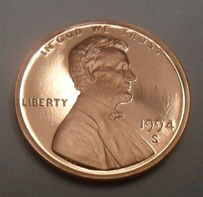 1994 S Lincoln Memorial *proof* Cent / Penny  **free Shipping**
