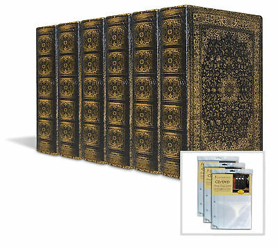 Old World Persian Book Box 6-Pack with 3 Insert Sheets