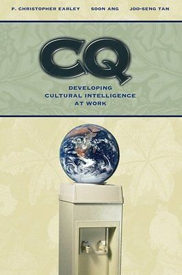 CQ: Developing Cultural Intelligence at Work,PB,P.Christopher Earley, Soon Ang,