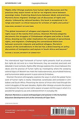 Rights After Wrongs (Stanford Studies in Human Rights),PB,Shannon Morreira - NE