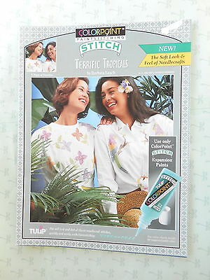Colorpoint Paintstitching  Terrific Tropicals  Transfer Patterns  Booklet