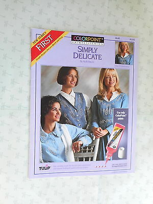Colorpoint Paintstitching  Simply Delicate Transfer Patter Booklet   Killi Dawn