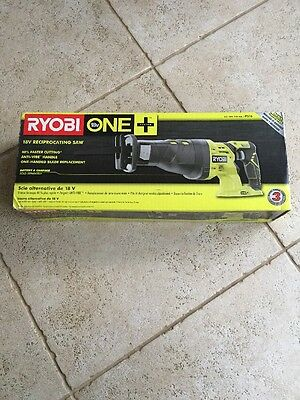 NEW Ryobi P516 one 18 volt cordless reciprocating saw tool only