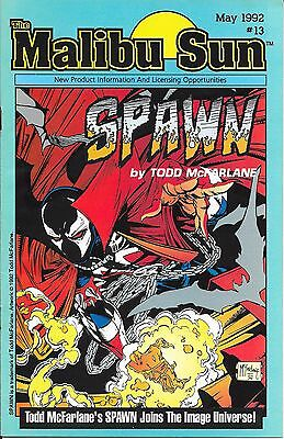 Spawn Malibu Sun # 13 First Appearance of Spawn Real Scans
