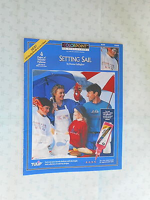Colorpoint Paintstitching  Setting Sail  Transfer Patterns  Booklet