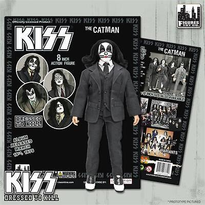 KISS Dressed To Kill 8 Inch Action Figure Peter Criss Catman