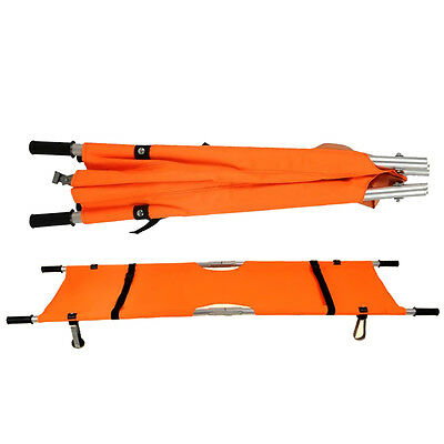 Super New Foldable Medical Bed Stretcher Ambulance Emergency H215 Rescue Patient