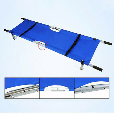 H215 Medical First Aid Equipment Super Light Weight Bed Wheel Stretchers Folding
