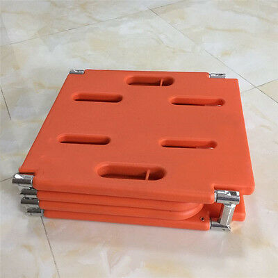 Sports Venues Yes Medical Equip Rescue Patient Foldable Orange Stretcher Y2R3