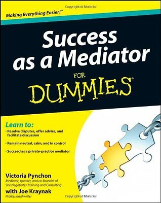 Success as a Mediator For Dummies,PB,Pynchon, Victoria - NEW