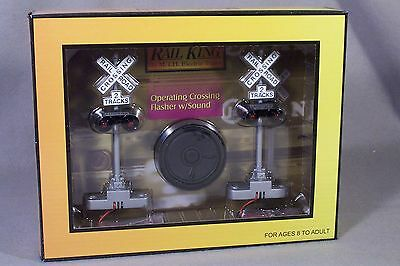 RailKing Scale Crossing Flasher w/Sound, MTH 30-11014, NEW!