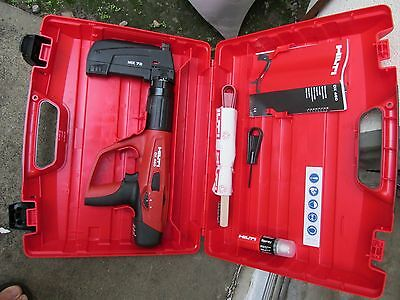 HIlti Powder-actuated tool DX 460-MX 72 direct fastening KIT  NEW  (639)