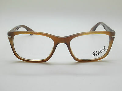 New Authentic PERSOL 3012-V 1018 Brown RX 54mm Eyeglasses