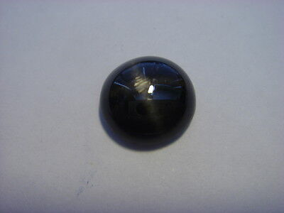 Star Diopside Round Cabochon Cut Gem 3.92 Carats 10mm  Gemstone Natural