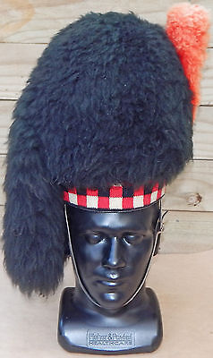 Black Watch Pattern BAGPIPER'S Feather BONNET New Zealand SCOTTISH Regiment WW2