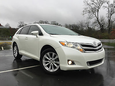 2013 Toyota Venza LE Sport Utility 4-Door AWD, White, Clean CarFax, Venza,