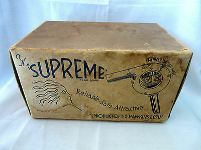 Vintage Morphy Richards Hair Dryer Vanity Grooming Collectable Hair Care England
