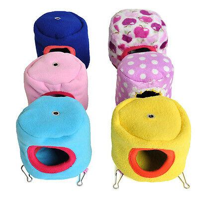 Warm Bed Rat Hammock Squirrel Winter Toys Pet Hamster Cage House Hanging Nest