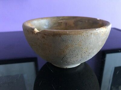 Traditional Japanese bowl chipped