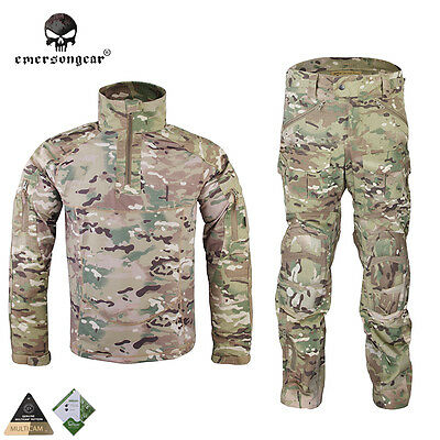 Emerson All-Weather Combat Uniform Suit Anti-riot Set Camo Gear Multicam MC 6894