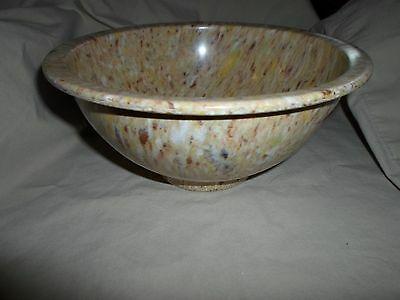 Mid Century Texas Ware Melamine Confetti Speckle Spatter 8 Inch Mixing Bowl 111