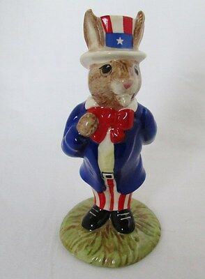 Royal Doulton Bunnykins Figure Figurine Uncle Sam DB50 Boxed