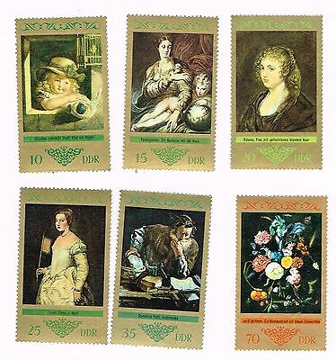 (13-562) 6 Uncancelled  Postage sTamps from Germany