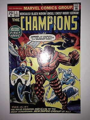 Champions #1 (1975) FN+  1st appearance of Champions (team)