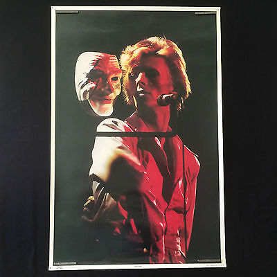 Rare Vintage 1975 David Bowie Original Poster by Thought Factory
