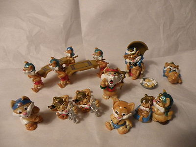 Kinder Surprise 1996 Cairo Cats 10 Figures Nice See Pictures Rare