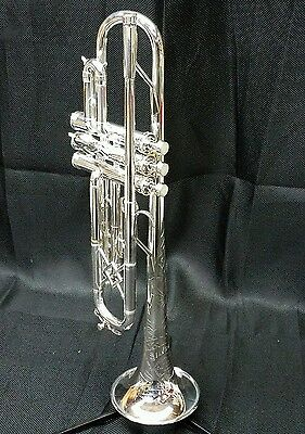 King Silvertone Trumpet with STERLING SILVER BELL