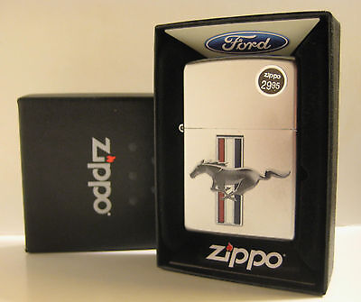 2014 Zippo Ford Mustang Unfired In Box