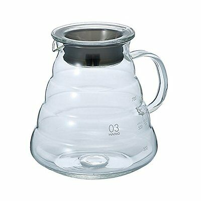 Hario XGS-80TB V60 Range Coffee Server 800ml Clear F/S from JAPAN