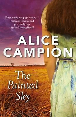 The Painted Sky by Alice Campion Paperback Book Free Shipping!
