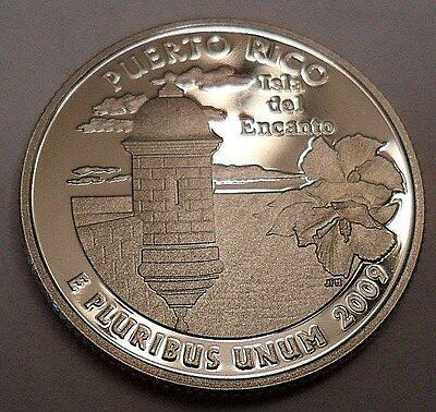 2009 S Puerto Rico *proof* Quarter   **free Shipping**