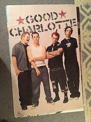 Good Charlotte Poster Early 2000's