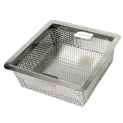 "Thunder Group Stainless Steel Floor Drain Strainer 8 1/2"" X 8 1/2"" X 3"" - Slfds3"