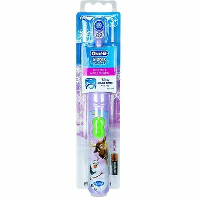 Oral-B elektrische Kinder Zahnbürste Disney Frozen Oral-B Stages Power - OVP