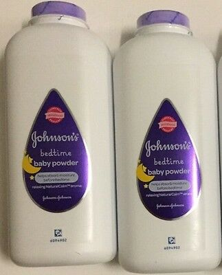 2 x 400g JOHNSON'S BEDTIME BABY POWDER