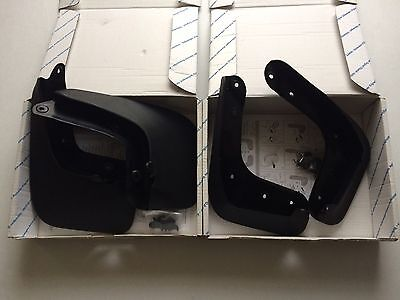 Genuine Brand New Vw Scirocco  Front & Rear Mud Flaps Set
