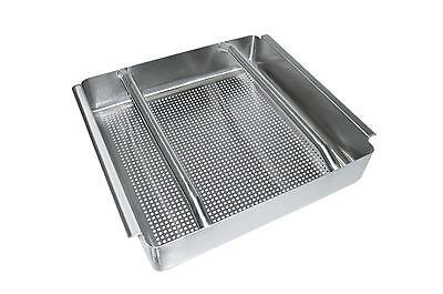 Bk Resources Commercial Stainless Steel Pre-Rinse Basket W/ Slides - Bk-Prb-5
