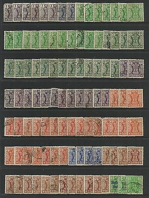 INDIA - mixed collection, bulk lot No.2, Service, Official stamps, x 100 +