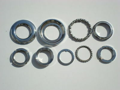 VESPA PX 125 150 P200 LML BALL RACER CONE SET OF 9 ITEMS With Bearings