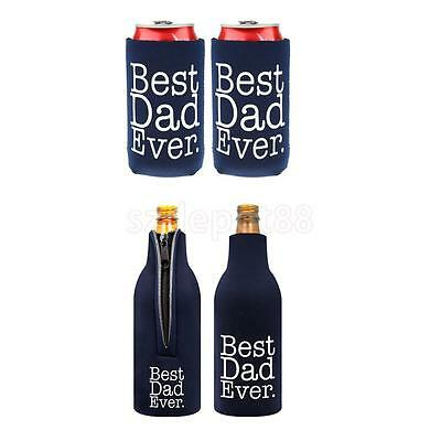 4PCS Beer Bottle Drinking Cooler Sleeves Holders Cover Neoprene Bag
