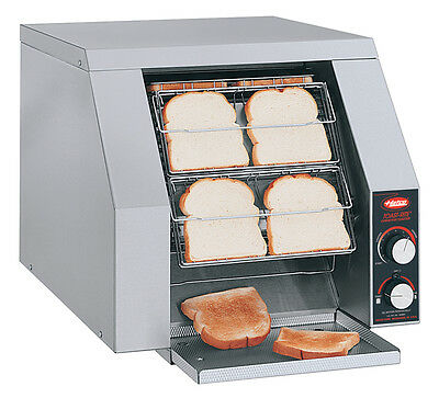 Hatco Toast-Rite Conveyor Toaster 480 Slices/ Hr 120V Stainless - Trh-50-120-Qs