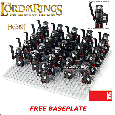 26pcs The Lord of the Rings Hobbit Uruk-Hai Mordor ORC Minifigures DIY Toys Gift