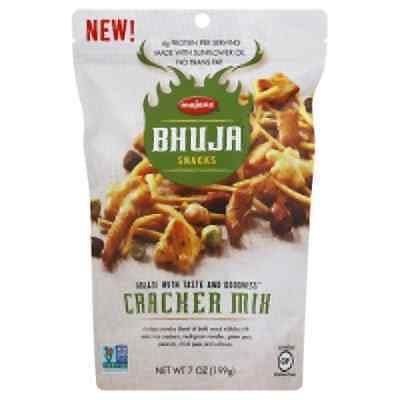 BHUJA Cracker Mix, 7-Ounce Bags Pack of 6