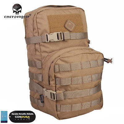 Emerson Modular Assault Pack w/ 3L Hydration Bags Molle Combat Gear 8 Color 5816
