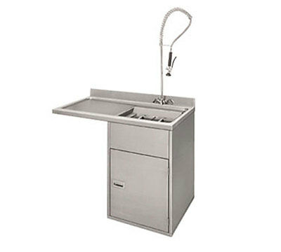 "Champion 1-RDT- 47"" Undercounter Soiled Dish Table Cabinet Stainless"