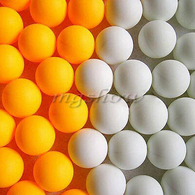 20pcs Table Tennis Balls Ping Pong Sport Tournament Indoor/Outdoor Cat Play Toy